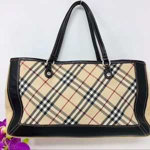 Preowned Authentic Burberry Satchel Bag